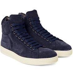 Tom Ford - Russel Suede High-Top Sneakers