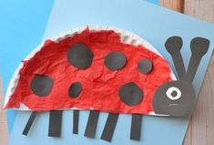 Basteln mit Kindern – 20 Ideen mit verschiedenen Materialien Crafting with children – 20 ideas with different materials Diy For Kids, Crafts For Kids, Arts And Crafts, Children Crafts, Craft Kids, Paper Plate Crafts, Paper Plates, Insect Crafts, Ladybug Crafts