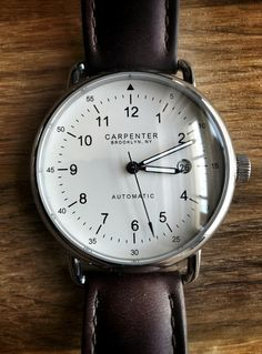 Carpenter Watches (500 euros)