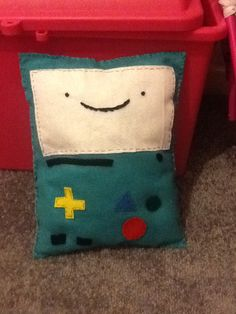 Adventure time beemo cushion :)