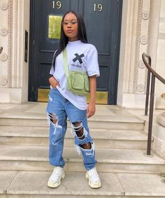 Cute Swag Outfits, Hip Hop Outfits, Cute Comfy Outfits, Tomboy Outfits, Chill Outfits, Teen Fashion Outfits, Tomboy Fashion, Dope Outfits, Retro Outfits