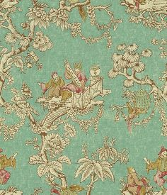 Lee Jofa Fabric Serenade Turquoise see sample Linen Thailand Light Horizontal: inches and Vertical: inches 54 inches - My Fabric Connection - Tablecloth Fabric, Drapery Fabric, Fabric Decor, Linen Fabric, Fabric Design, Chair Fabric, Pattern Design, Curtains, Asian Upholstery Fabric