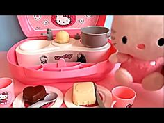Toys Fun Land: Let's Cook for Hungry Kitty with Hello Kitty Baby ...