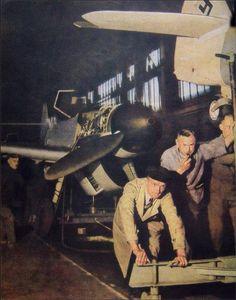 Messerschmitt Bf 109 G-6 W.Nr. 410 771, Erla Leipzig production line, October 1943.