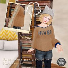 NuDoLu Sweat boho parisien Hiver for TGGS AD | Flickr - Photo Sharing!