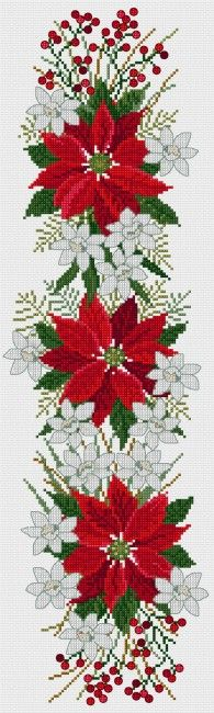 Poinsettia design | Lesley Teare Thoughts on Design
