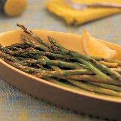 Cooking Light Grilled Asparagus
