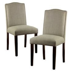 180 - Camelot Nailhead Dining Chair - Threshold™ : Target