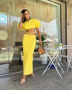Celebrity Red Carpet, Celebrity Style, Summer Girls, Christopher Esber, Olivia Culpo, Spring Summer Trends, Yellow Fashion, Celebs, Celebrity