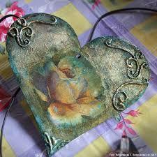Znalezione obrazy dla zapytania decoupage ślub na sercu