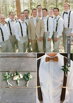 semi-casual groomsmen looks | CHECK OUT MORE IDEAS AT WEDDINGPINS.NET | #bridesmaids