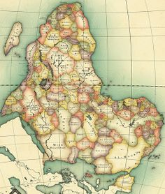 This is a map of what Africa might look like without the history of European colonialism. Modern nation-states may have been formed based on African tribes and the states that existed prior to European colonization. (Go here for a larger version: http://developmentdaily.files.wordpress.com/2013/07/alkebu-lan-1260.jpg) [Click on this image to find a short clip and analysis that considers intersections of privilege and colonialism]  via Nikolaj Cyon