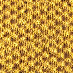 "Stitch Pattern.  No decreases or increases necessary, just clever little ""chains"" of knit stitches that pucker forward on the following row."