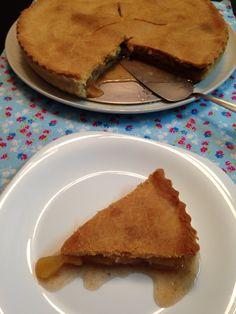 Torta de maçã sem glúten! Receita no blog!