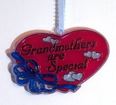 ORNAMENT  Grandmothers Are Special Acrylic  by CreativeXpression1, $3.50