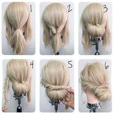 Lovely 25+ Beautiful Simple-bun Hairstyles Ideas For Women Looks More Pretty https://www.tukuoke.com/25-beautiful-simple-bun-hairstyles-ideas-for-women-looks-more-pretty-18102