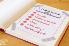list journal - this would be good for kids to practice writing and spelling