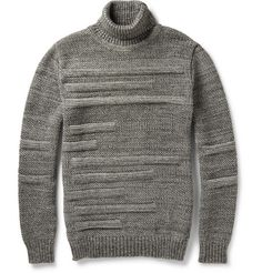 S.N.S. Herning Textured Virgin Wool Rollneck Sweater | MR PORTER