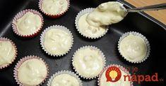 Jedna prísada, vďaka ktorej budú vaše muffiny neodolateľné! Cap Cake, No Bake Cake, Cooker, Muffins, Food And Drink, Pudding, Sweets, Baking, Breakfast