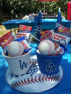 13 Best Dodger Theme Baby Shower Images Boy Shower Dodgers Party