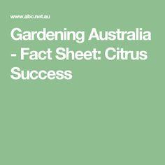 Gardening Australia - Fact Sheet: Making Perfect Vegie Soil Australian Native Garden, Australian Plants, Citrus Trees, Fruit Trees, Organic Gardening, Gardening Tips, Gardening Vegetables, Growing Vegetables, Australia Facts