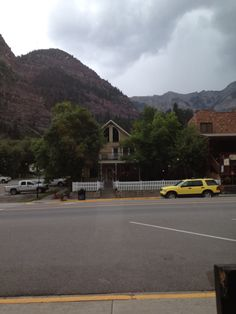 Ouray is surrounded by beautiful mountains