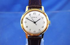 Vintage edele #gents #swiss #mechanical watch 1960s nos brand new old stock,  View more on the LINK: http://www.zeppy.io/product/gb/2/112285341022/