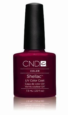 Creative Nail Design Shellac UV Color Coat Decadence .25 oz.
