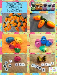 Classroom Freebies Too: Eggciting Centers and Activities