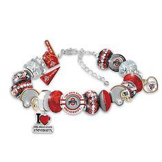 Ohio State Buckeyes Fashionable Fan Bracelet