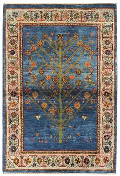 Persian Gabbeh Rugs Gallery: Persian Luri Rug, Hand-knotted in Persia; size: 3 feet 6 inch(es) x 4 feet 11 inch(es) Shag Carpet, Rugs On Carpet, Persian Carpet, Persian Rug, Iranian Rugs, Iranian Art, Decoupage, Patterned Carpet, Rugs