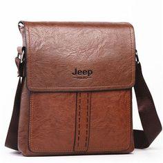 0772811758 Genuine Leather Men Messenger Bag Travel Bags