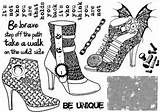 Main / 8875 - Butterfly Shoe Rubber Stamp - Sku: F523