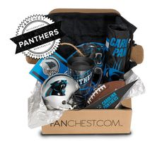 Panthers Memorabilia Gift Box | Signed Mini Helmet Included • FANCHEST