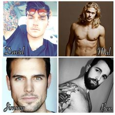 The men of Stage Dive by Kylie Scott.