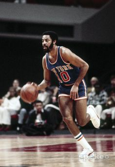 """Walt Frazier   """"never look down on a man unless you're helping him get up"""" Best point guard during 70's."""
