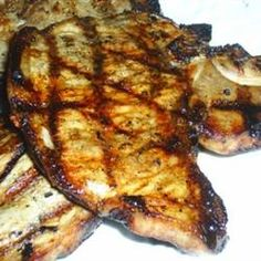 how to cook butterfly pork chops on the grill