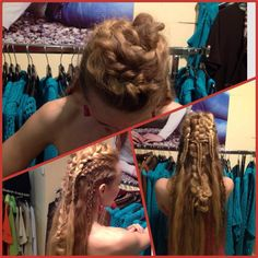 Vikings again Plait Braid, Plaits, Horde, Braided Hairstyles, Vikings, Hair Makeup, Dreadlocks, Costumes, Long Hair Styles