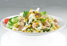 Top 13+1 teljes értékű saláta Veggie Recipes, Salad Recipes, Healthy Recipes, Healthy Foods, Hungarian Recipes, Potato Salad, Cobb Salad, Food Porn, Food And Drink