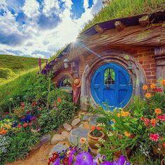 Hobbiton village New Zealand