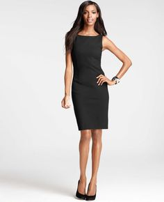 Ponte Femme Sheath Dress - my pal Katherine has this dress and it's stunning!