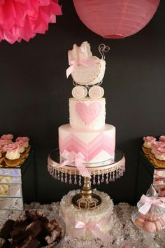 Awesome baby shower cake