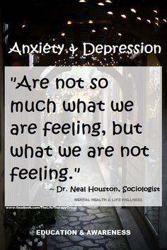 What are you missing? ~ Dr. Neal Houston, Sociologist (Mental Health  Life Wellness) EDUCATION  AWARENESS www.facebook.com/TheLifeTherapyGroup