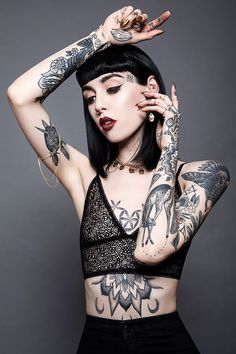 Her tats are amazing!!