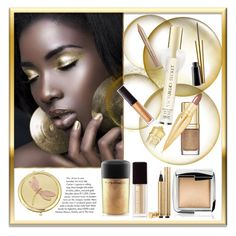 """""""Gold"""" by frenchfriesblackmg ❤ liked on Polyvore featuring beauty, Yves Saint Laurent, Monet, MAC Cosmetics, Hourglass Cosmetics, Dolce&Gabbana, Christian Louboutin, Kevyn Aucoin, Estée Lauder and Victoria's Secret"""