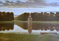 Midsummer Morn, Bushy Park by George Dunlop Leslie