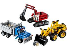 Jason - $70 Build your very own collection of detailed construction site vehicles!