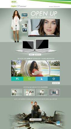 Acer laptops #website #design