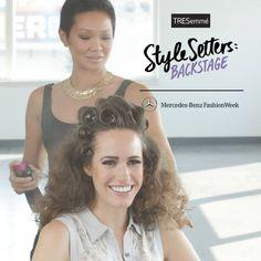 Get Jenny Packham's retro curls from Fashion Week now: http://www.youtube.com/watch?v=gr7jcWaqUGQ&feature=youtu.be