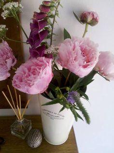 my garden flowers #cut #flowers #garden #peony